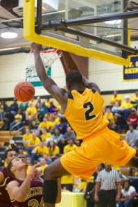 Mott freshman Coreante DeBerry led all scorers with 18 points and seven rebounds.