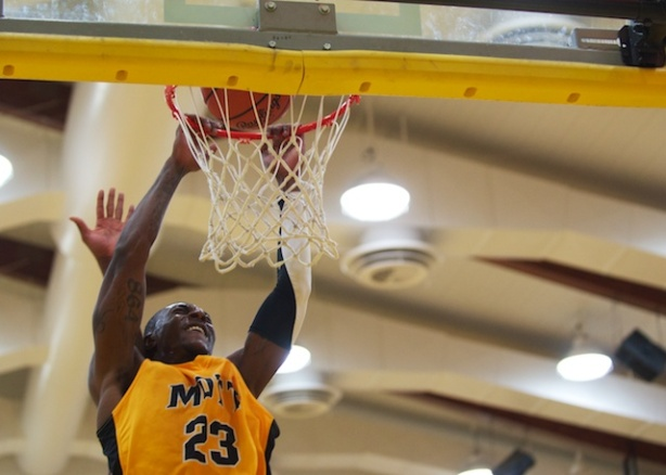 Mott sophomore Fred Mattison was named Conference Player of the Year on Friday.
