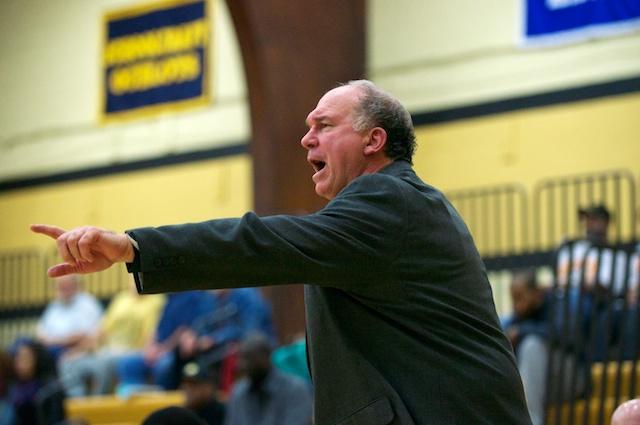 Mott head coach Steve Schmidt.