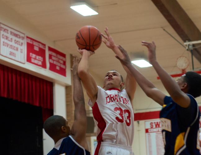 Junior Dallas Dunlap tallied a double-double against Southwestern Tuesday night with 11 points and 10 rebounds.
