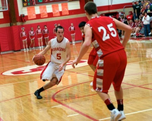Swartz Creek senior Max Cummings, an underrated shooting guard, shows up at no. 10 in our rankings for the 2012-13 season.