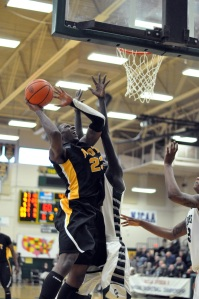 Mott's Fred Mattison scored a team-high 17 points against CCC. (Mike Tews, Mott)