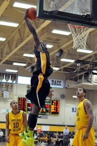 Mott's Fred Mattison finished with 14 points in the Bears' 13-point win over Phoenix College Friday.