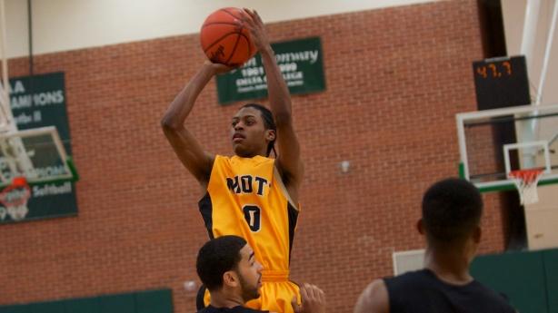 Mott freshman Malik Albert.