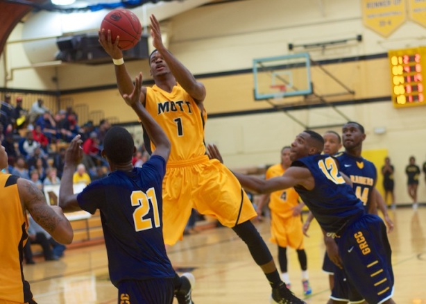 Mott Sophomore forward Myles Busby (Niles, MI) won the MCCAA Eastern Conference Defensive Player of the Year Award.