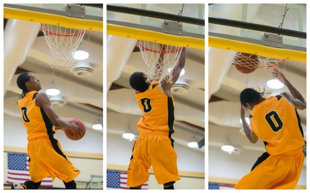 High-flying sophomore Malik Albert led all scorers with 21 points on 10-for-10 from the foul line.