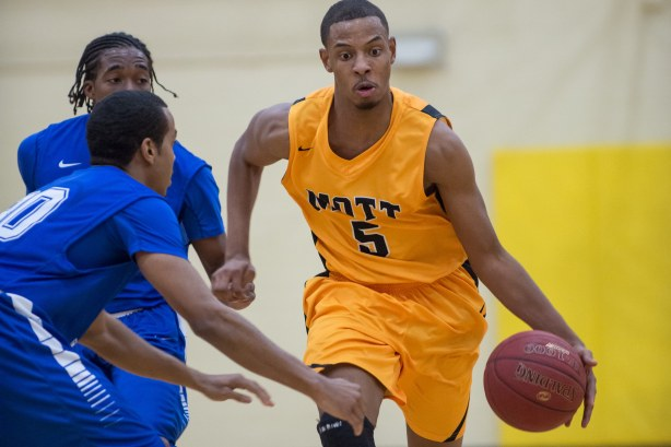 Mott sophomore Devin Foster scored 14 points on seven shots with five assists in a win over Wayne on Saturday in Flint.